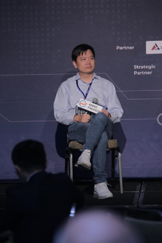 区块链金融科技集团Bitmaga CEO茅毅锋出席火星财经硅谷峰会